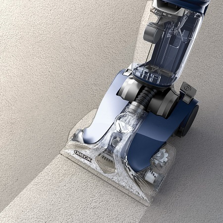 Oreck Carpet Cleaner On Floor