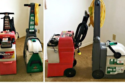Two Different Types Of Carpet Cleaners